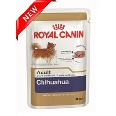 Фото: Консерва для собак CHIHUAHUA ADULT ROYAL CANIN 85г