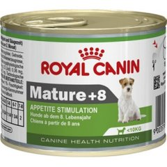 Фото: Консерва для собак MATURE +8 WET ROYAL CANIN 195гр